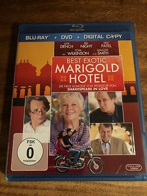 Best Exotic Marigold Hotel  (+ DVD) [Blu-ray] - SEHR GUT