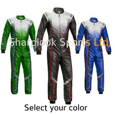 Sparco Go Kart Racing Suit Cik Fia Level Ii (Sublimation Printing )
