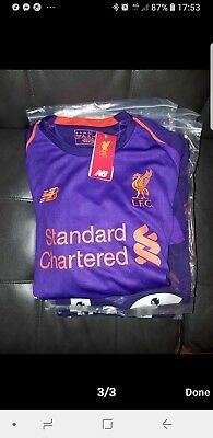 Liverpool Football Away Shirt  2018 /19 Adult New Balance all Sizes