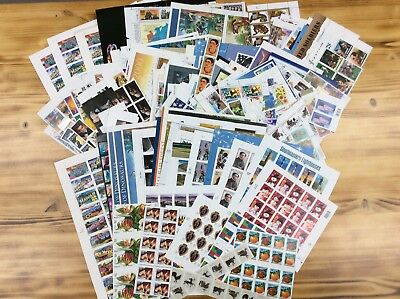 Discount Stamps: $1,049.26 Face Value, Mixed Lot Of Mint Postage Stamps