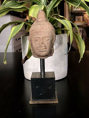 RARE Ancient Cambodian Carved Buddha