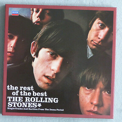 Rolling Stones - The Rest of the Best - ungespielt 4 LP-Box