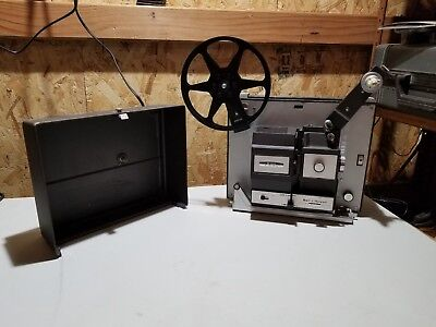 Vintage Bell & Howell 456A Autoload 8mm -Super 8 Projector Works