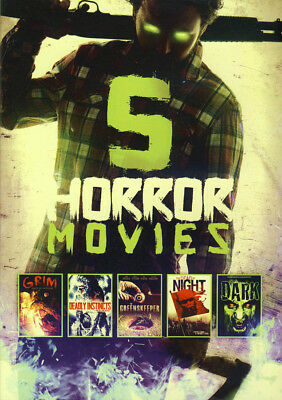 5 - Horror Movies Collection (Value Movie Collection) (Dvd)