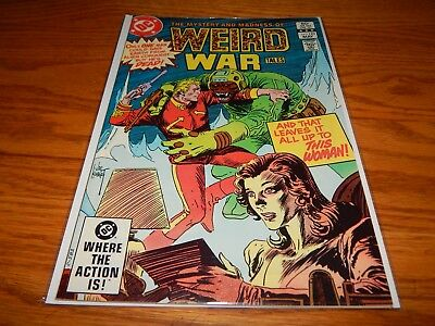 KEY Great Find UNREAD Bronze Age Comic Weird War Tales # 123  9.2 & Up Condition
