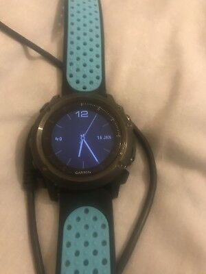 Garmin Fenix 3 GPS Multi-sport Training Watch No Reserve