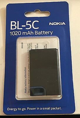 Nokia BL-5C battery original 1020 mAh BL-5C for E50 E60 N-Gage N70 N71 N72 N91