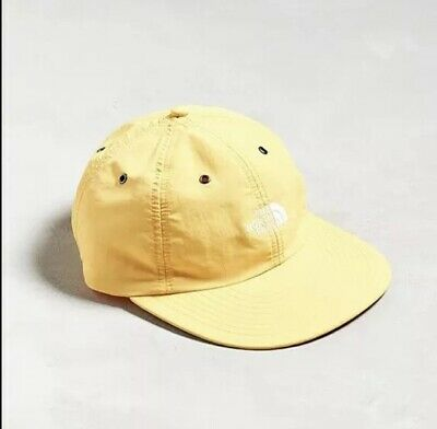 8e8f383c Brand new The North Face Throwback Tech Cap 6-Panel Hat Nylon Wide Brim  Yellow