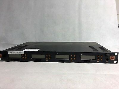Cameras & Photo Audio Ltd Rk2040 Rack Diversity Receiver Rack With Built-in Dist Amp & 4 Rx