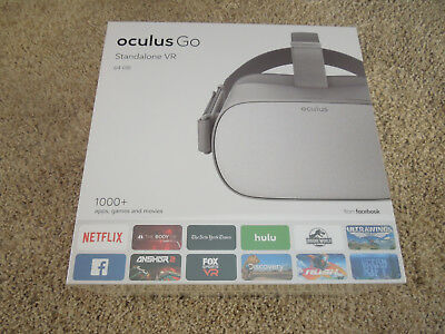 oculus Go Standalone VR All-in-One Headset -64 GB - New in sealed packaging