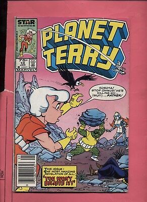 Planet Terry #10 1985   CANADIAN PRICE VARIANT Newsstand Rare