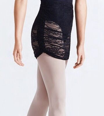 Women's Capezio Ruched Pull-On Skirt