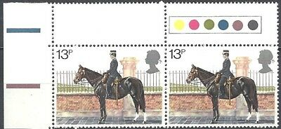 GB QEII - Police - 1979, 26 Sep - 13p pair with traffic lights (UM) (Lot #3241)