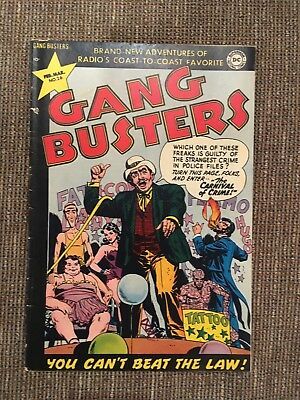Gang  Busters 26; Kirby, Baily, Rousos, Swan Art VG+