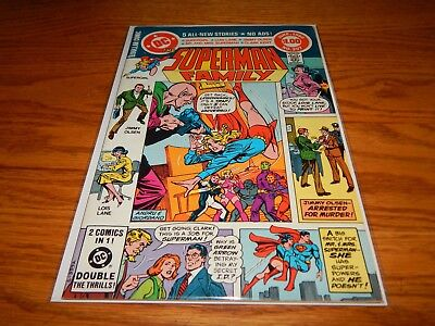 Great Find UNREAD Bronze Age Comic The Superman Family # 207  9.2 & Up Cd.