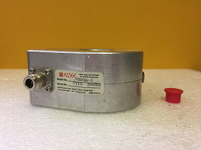 Emco EMC Test 95236-1 10 kHz to 100 MHz 100 W, Current Injection Probe. Tested!