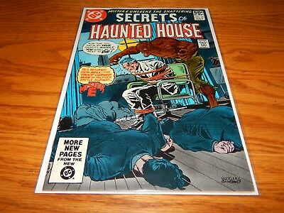 Great Find UNREAD Bronze Age Comic Secrets Of Haunted House # 38   9.2 & Up Cd.