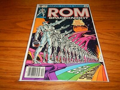 Great Find UNREAD Bronze Age Comic ROM Spaceknight # 13  9.2 & Up Condition
