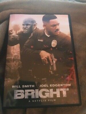 Bright (DVD,2018)`*`*REGION 1*CHECK OUT MY STORE FOR RARE DVD GREAT DEALS***