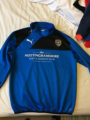 Notts County Top Not Shirt Medium