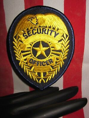 Security  Badge Patch