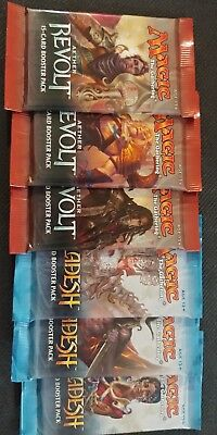 Magic The Gathering 3 Kaladesh & 3 Aether Revolt Booster Packs
