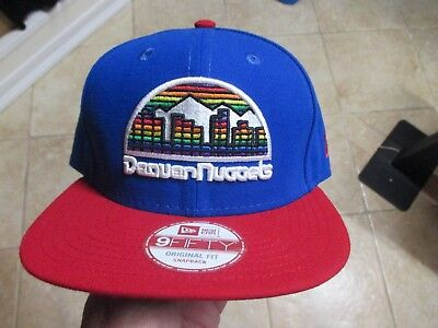 promo code e7ab4 696c7 ... get denver nuggets new era 9fifty hat flat rim snapback nwt 28 blue  ff2ee e0cdd