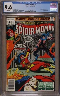 Spider-Woman #4 (7/78), Cgc 9.6 White Pages