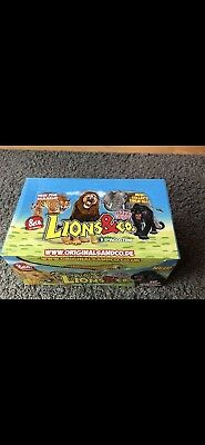DeAgostini Lions & Co.Maxxi Edition 1 Display 16 Booster Lions und CO Neu & OVP
