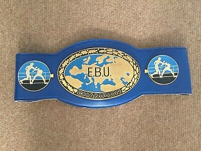 EBU boxing belt