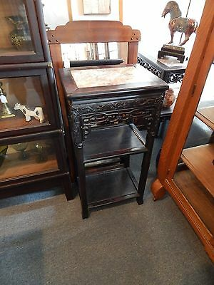 Antique Chinese Pedestal Plant Stand