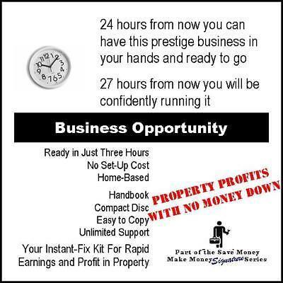 Earn Money in Property. Business-Opportunity. Part-Time Cash-Income From Home