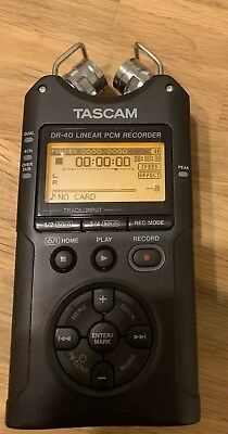 TASCAM DR-40 4-Track Digital Audio Recorder with SD Card