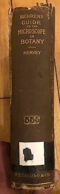 Guide to Microscopical Investigation...1885 Bausch & Lomb Bulloch Microscopes