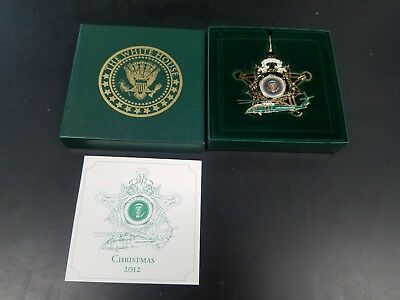 2012 White House Marine One Ornament United States of America Helicopter
