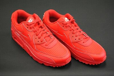 39d2b62afee9  Aj1285 602  New Men s Nike Air Max 90 Essential University Red White Le1132