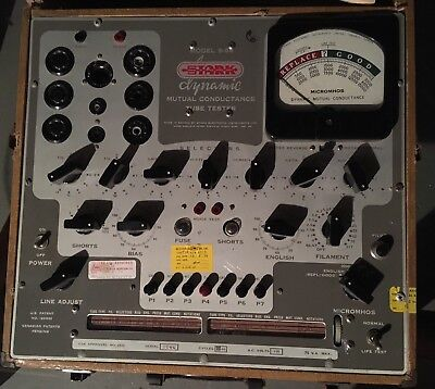 Stark 9-66 Dynamic Mutual Conductance Tube Tester