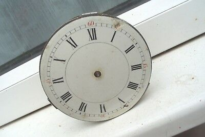 Clock Parts Spares  Repair To  Fit A  90Mm Hole  Spring  Ok  Time Piece  Only