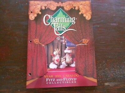 Charming Tails by Fitz and Floyd 2001 collectibles catalog