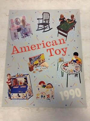 Preowned 1990 American Toy Product Catalog