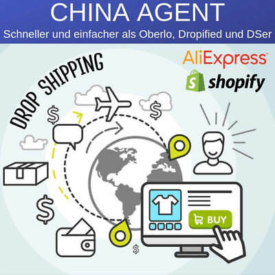 (Shopify) Kontakt zum China Sourcing & Fulfillment Agenten/Großhändler
