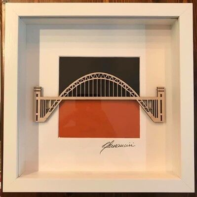 Newcastle Tyne Bridge Art Plywood Laser original