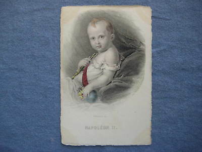 ca1906 French Royalty Postcard - NAPOLEON II as Baby  Published by Bosselman Sc.