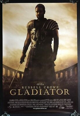 Gladiator 27 x 40 Original D/S Double Sided Rolled Movie Poster Russell Crowe