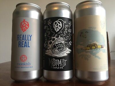 Monkish Mixed 3 Pack! [3 cans total] Other Half Tired Hands Treehouse 450 North