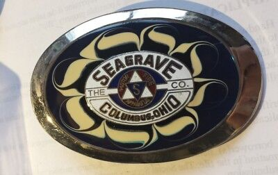 Seagrave Fire Fighter Belt Buckle