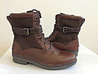 8e17c057fbb UGG KESEY CHESTNUT Brown Waterproof Shearling Lined Boot Us 10 / Eu ...