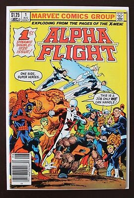 ULTRA RARE - Alpha Flight Issue 1 (1983) Canadian Variant NM-