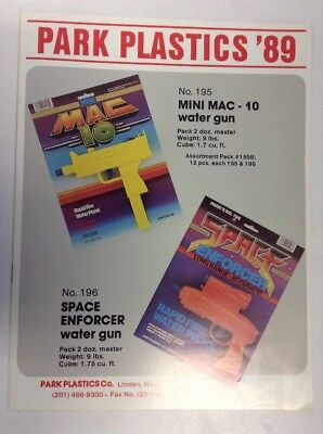 Preowned 1989 Park Plastic Toys Product Catalog