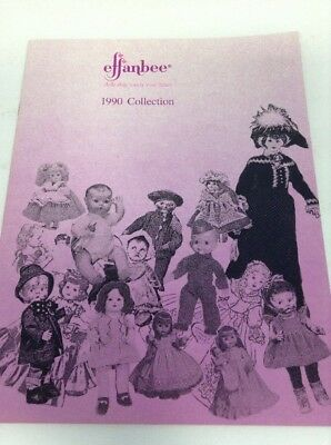 Preowned 1990 Effanbee Product Catalog